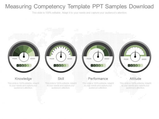Measuring Competency Template Ppt Samples Download