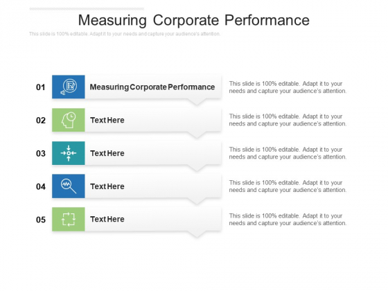 Measuring Corporate Performance Ppt PowerPoint Presentation Professional Background Images Cpb