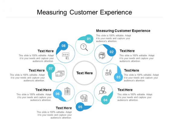 Measuring Customer Experience Ppt PowerPoint Presentation Outline Smartart Cpb
