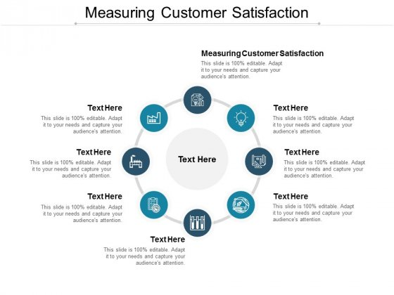 Measuring Customer Satisfaction Ppt PowerPoint Presentation Portfolio Graphics Cpb