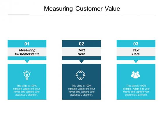 Measuring Customer Value Ppt PowerPoint Presentation Ideas Gridlines Cpb