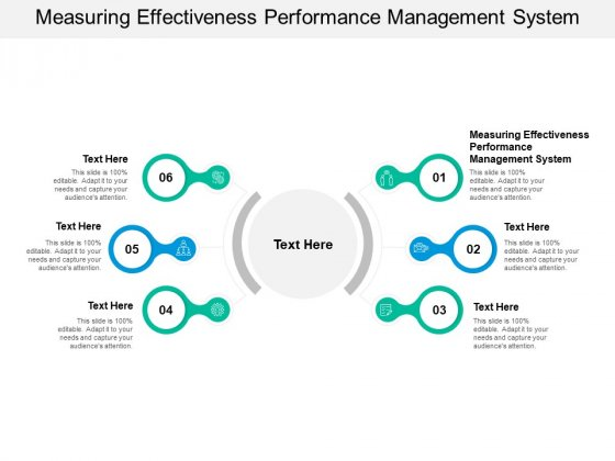 Measuring Effectiveness Performance Management System Ppt PowerPoint Presentation Styles Format Ideas