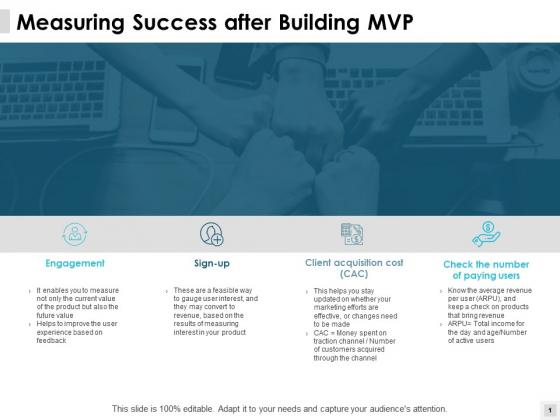 Measuring Success After Building Mvp Engagement Ppt PowerPoint Presentation File Microsoft