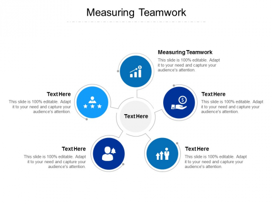 Measuring Teamwork Ppt PowerPoint Presentation Layouts Brochure Cpb