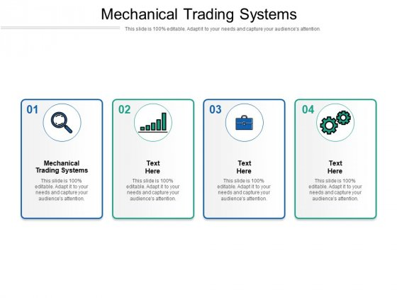 Mechanical Trading Systems Ppt PowerPoint Presentation Summary Ideas Cpb Pdf