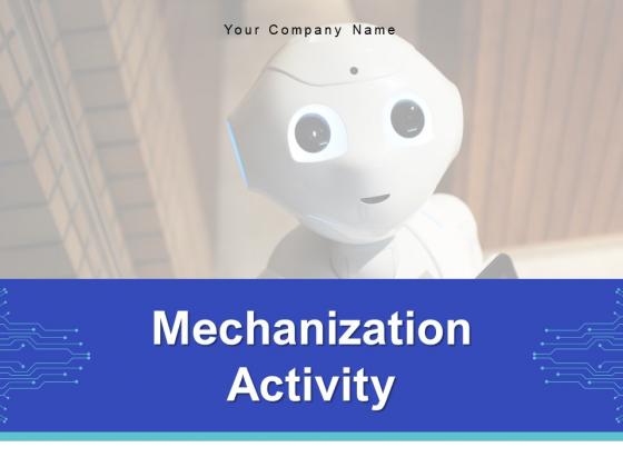 Mechanization Activity Gear Marketing Ppt PowerPoint Presentation Complete Deck