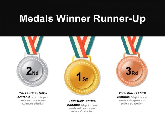 Medals Winner Runner-Up Ppt PowerPoint Presentation Ideas Layouts