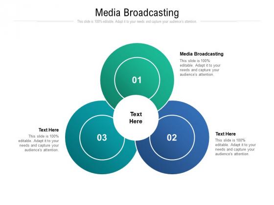Media Broadcasting Ppt PowerPoint Presentation Gallery Slideshow Cpb Pdf