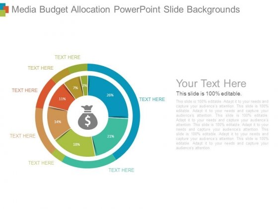 Media Budget Allocation Powerpoint Slide Backgrounds