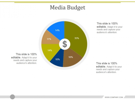 Media Budget Ppt PowerPoint Presentation Icon Portfolio