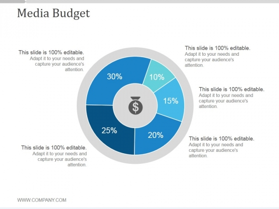 media budget ppt powerpoint presentation picture powerpoint templates