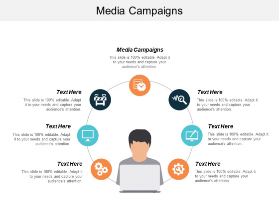 Media Campaigns Ppt PowerPoint Presentation Model Slideshow Cpb