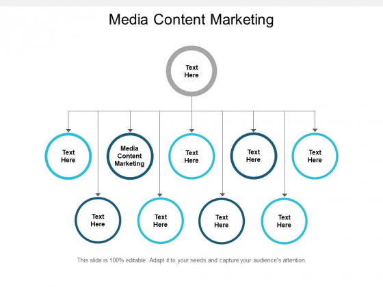 Media Content Marketing Ppt PowerPoint Presentation Professional Smartart Cpb