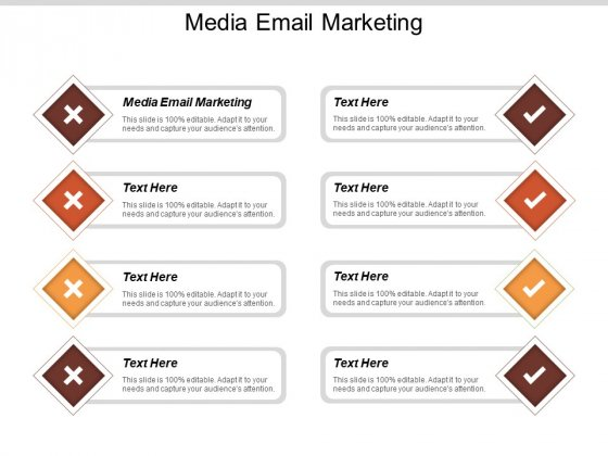 Media Email Marketing Ppt PowerPoint Presentation Inspiration Elements Cpb