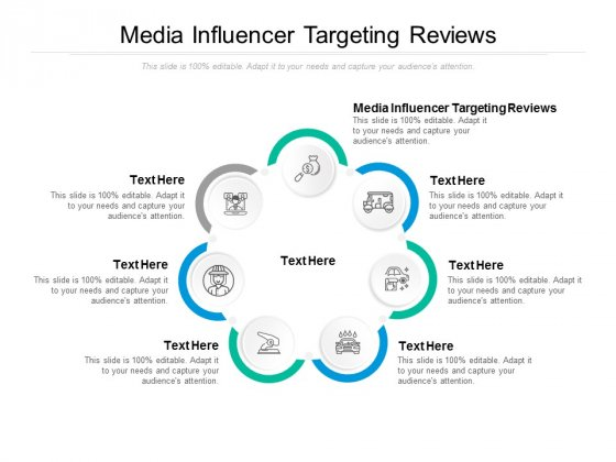 Media Influencer Targeting Reviews Ppt PowerPoint Presentation Gallery Outfit Cpb