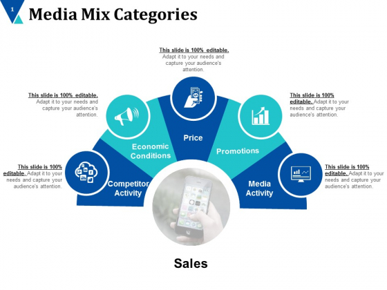 Media Mix Categories Ppt PowerPoint Presentation Infographics Introduction