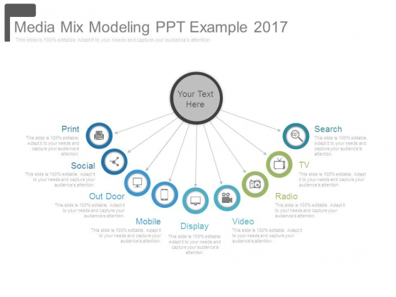 Media Mix Modeling Ppt Example 2017