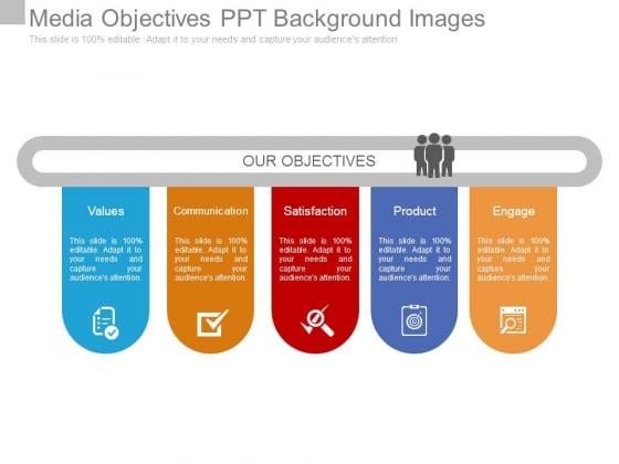 Media Objectives Ppt Background Images