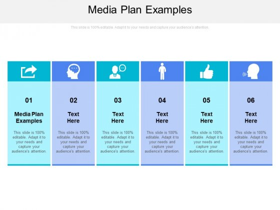 Media Plan Examples Ppt PowerPoint Presentation Styles Files Cpb