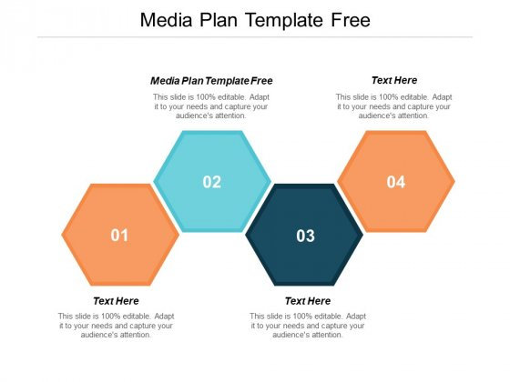 Media Plan Template Free Ppt PowerPoint Presentation Show Icons Cpb