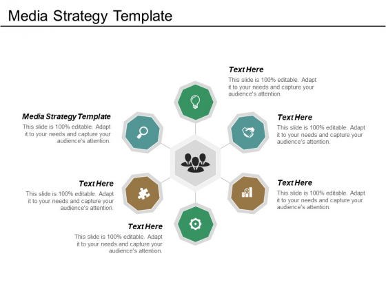 Media Strategy Template Ppt PowerPoint Presentation Slides Information Cpb