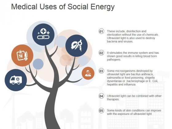 Medical Uses Of Social Energy Ppt PowerPoint Presentation Pictures Display