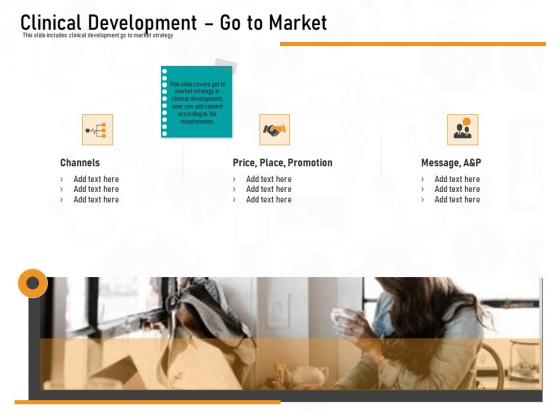 Medicine Promotion Clinical Development Go To Market Ppt PowerPoint Presentation Summary Elements PDF