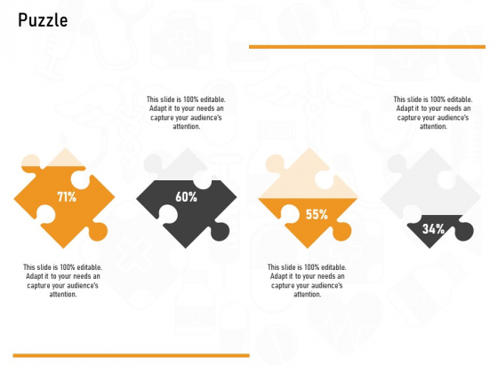 Medicine Promotion Puzzle Ppt PowerPoint Presentation Pictures Backgrounds PDF
