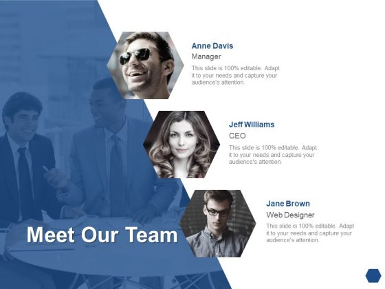 Meet Our Team Communication Introduction Ppt PowerPoint Presentation Styles Tips