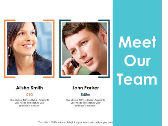 Meet Our Team Communication Planning Ppt PowerPoint Presentation Infographic Template Tips