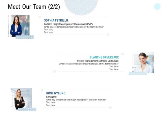 Meet Our Team Communication Ppt PowerPoint Presentation Ideas Gridlines