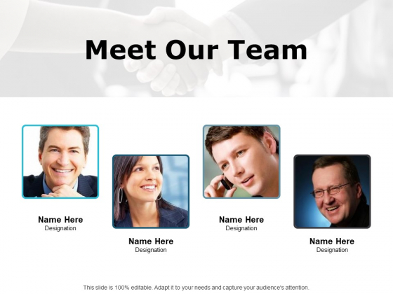 Meet Our Team Communication Ppt PowerPoint Presentation Model Introduction