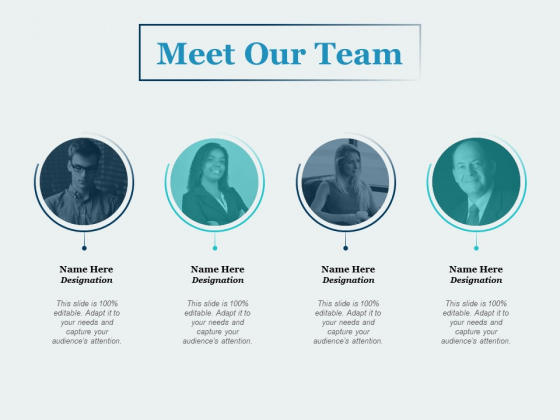 Meet Our Team Communication Ppt PowerPoint Presentation Slides Templates