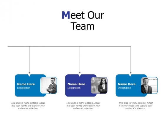 Meet Our Team Ppt PowerPoint Presentation Infographic Template Background Image
