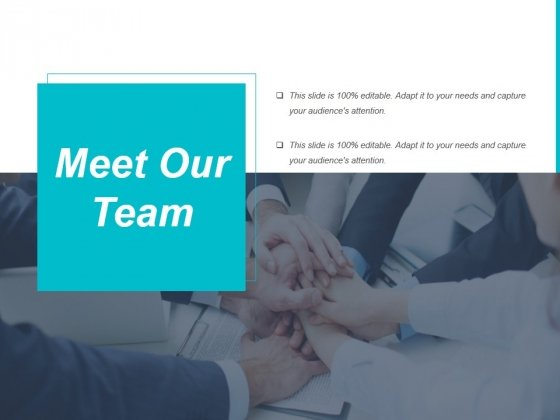 Meet Our Team Ppt PowerPoint Presentation Model Background