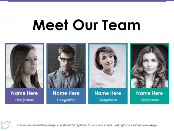 Meet Our Team Ppt PowerPoint Presentation Portfolio Graphics