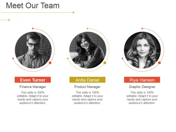 meet our team ppt powerpoint presentation slides templates