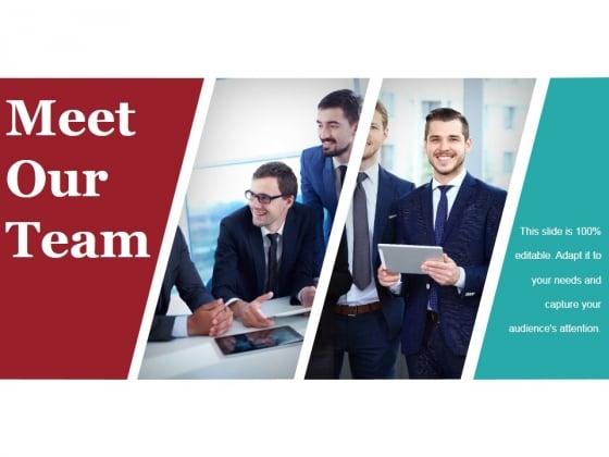 Meet Our Team Ppt PowerPoint Presentation Summary Themes