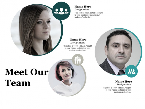 Meet Our Team Work Ppt PowerPoint Presentation Layouts Example Topics