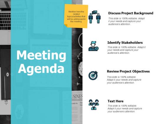 Meeting Agenda Ppt PowerPoint Presentation Inspiration Master Slide