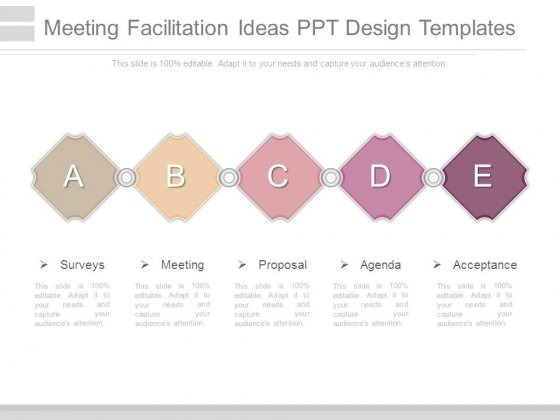 Meeting Facilitation Ideas Ppt Design Templates