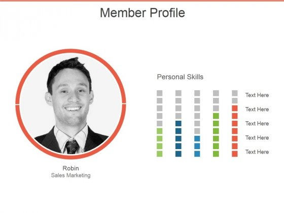 Member Profile Ppt PowerPoint Presentation Layouts Template