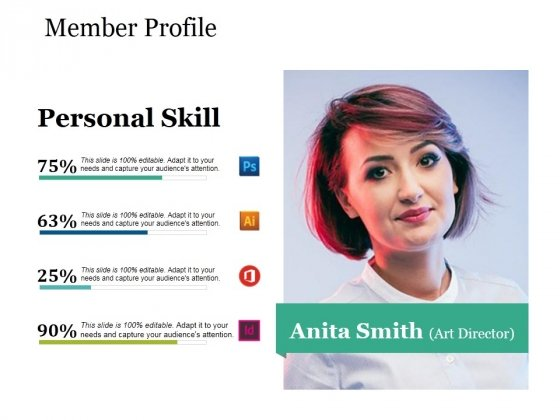 Member Profile Ppt PowerPoint Presentation Show Designs Download