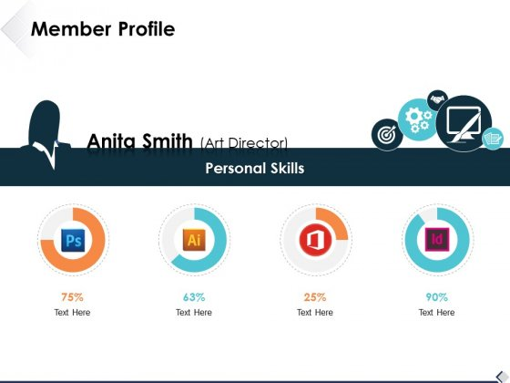 Member Profile Ppt PowerPoint Presentation Slides Portrait