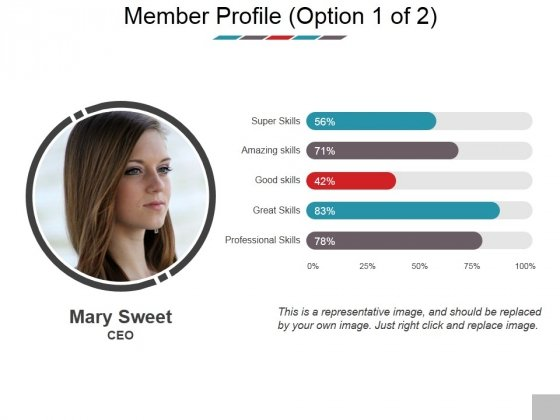 Member Profile Template 2 Ppt PowerPoint Presentation Outline Outfit