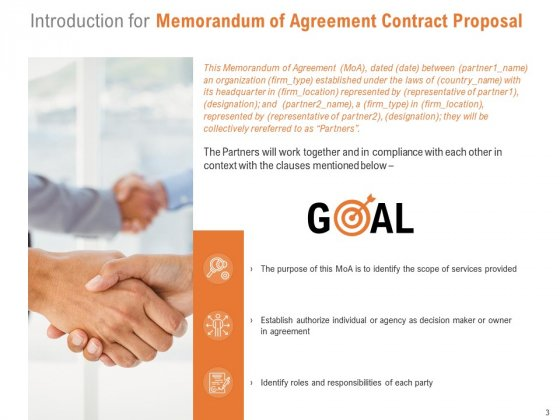Memorandum_Of_Agreement_Contract_Proposal_Ppt_PowerPoint_Presentation_Complete_Deck_With_Slides_Slide_3