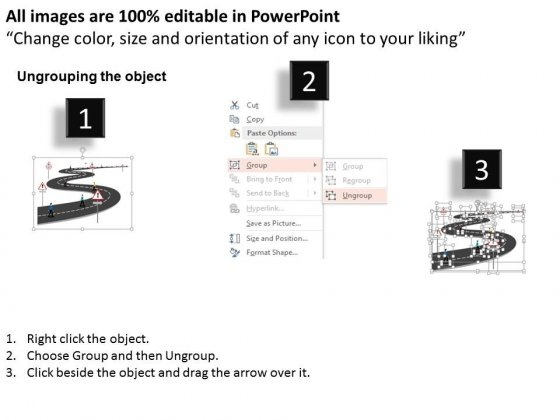 Men_On_Roadmap_For_Success_Steps_Powerpoint_Template_2