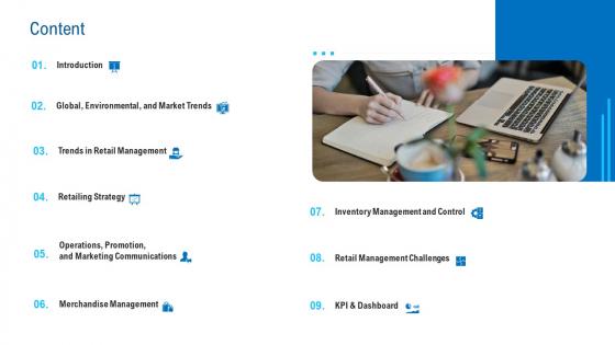 Merchandising Industry Analysis Content Diagrams PDF