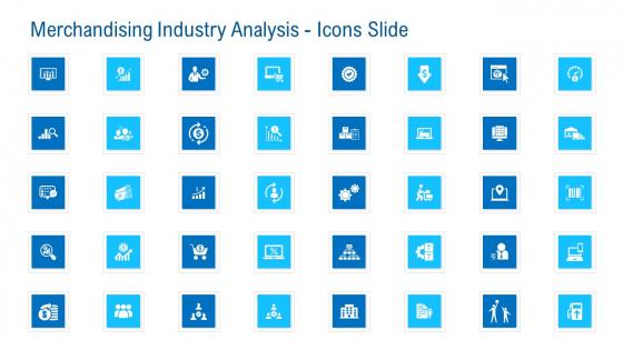 Merchandising Industry Analysis Icons Slide Themes PDF