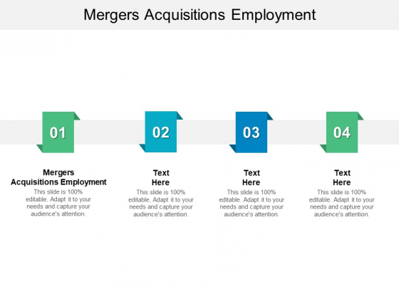 Mergers Acquisitions Employment Ppt PowerPoint Presentation Pictures Smartart Cpb